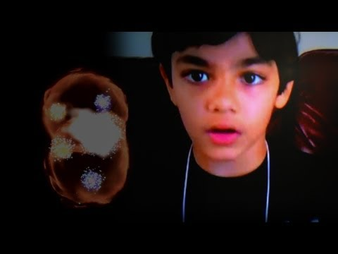 "9-Yr-Old Prodigy Explains ""God Particle"""