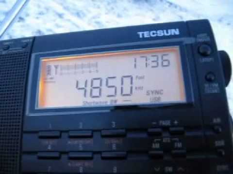 Tropical Band DXing in the Snow with Tecsun PL-660