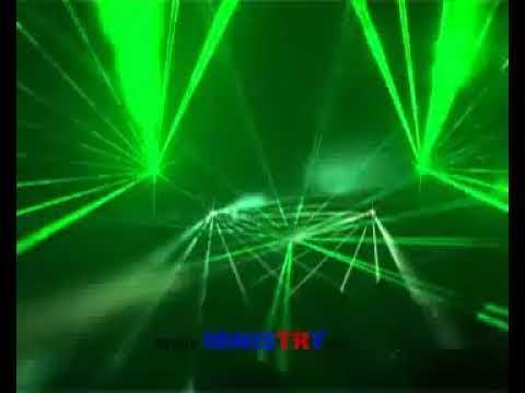Ministry laser show - Skanska