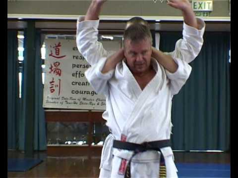 TOM HILLS DOJO - Goju Karate; Full Nelson wrestling fighting technique Image 1