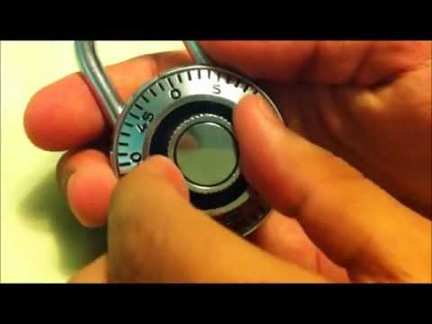 How To Open A Lock For Middleschool/Highschool