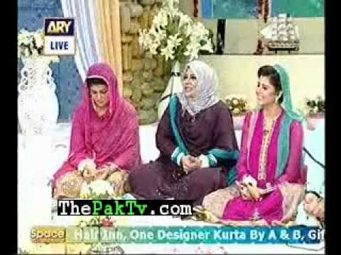 hooria faheem and sisters in good morning pakistan p-5