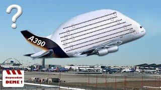 Uçabildiğine Hayret Edeceğiniz ANORMAL Büyüklükte 10 Uçak