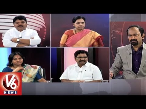 Special Debate On Modi Comparison Telangana With Pakistan | Good Morning Telangana | V6 News