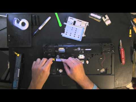 EMACHINES E-Machines E725 take apart video. disassemble. how to open disassembly