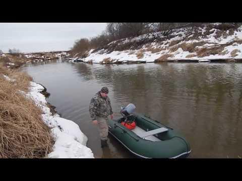 видео на лодке по мелким рекам