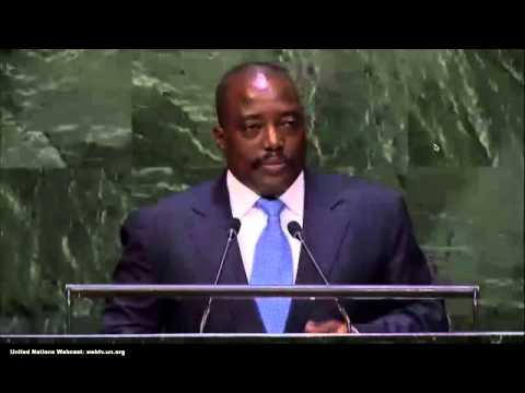 Discours de Joseph kabila aux nations unies- 69è session