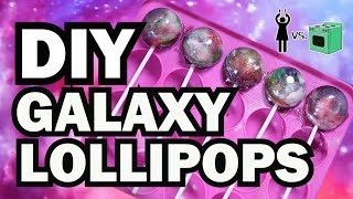 DIY Galaxy Lollipops, Corinne VS Cooking