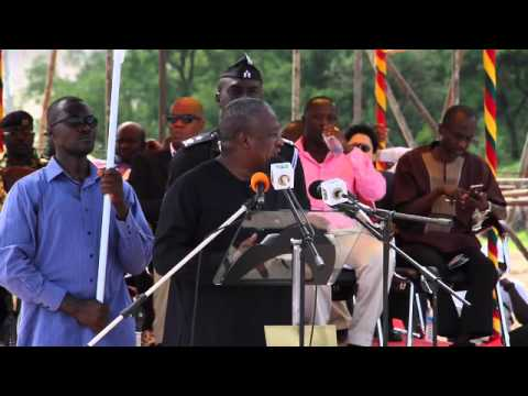 President John Mahama Speaking At The Commissioning Of First Power From The Bui Dam video