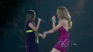Download Lagu Charice and Celine Dion duet at Madison Square Garden (HD) Gratis STAFABAND