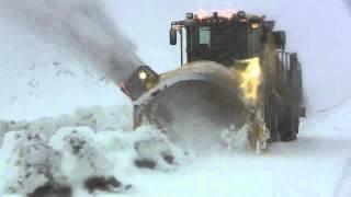 Wausau Model BAB Snow Blower Deep Wet Heavy Snow 0124 2012.12.20