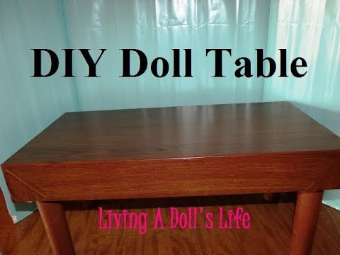 0 HTM   A Doll Dining Table
