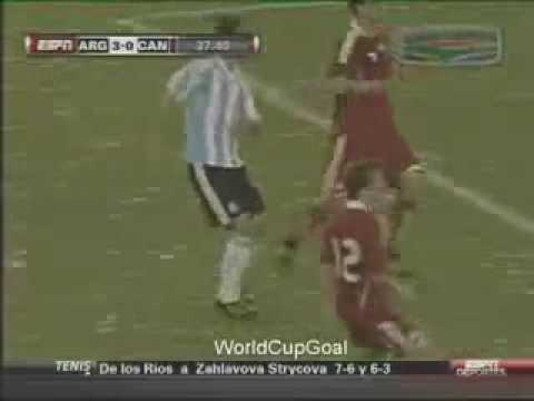 Argentina vs Canadá (5-0) All Goals & Full Highlights - Friendly 24/05/2010