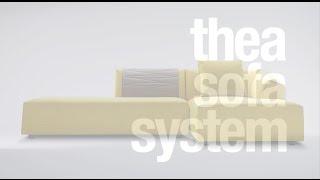 MDF Italia - THEA SOFA SYSTEM