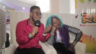 Download Lagu Spice Reacts To Bella, Love and Hip Hop Drama, Dating Rumors   Reggae Sumfest 2018 Gratis STAFABAND