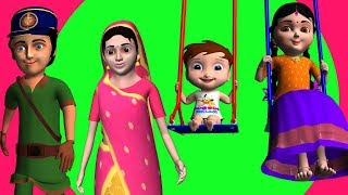 Chinnu Telugu Rhymes & Baby Songs | Preschool Telugu Rhymes For Childrens