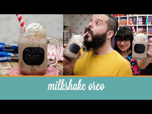 Milkshake de Oreo (com calda de brigadeiro) | Cozinha para 2
