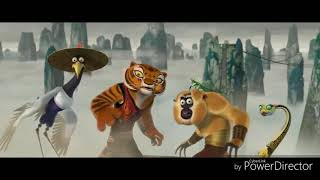 Furious Five vs Tai Lung [KUNG FU PANDA - HD]