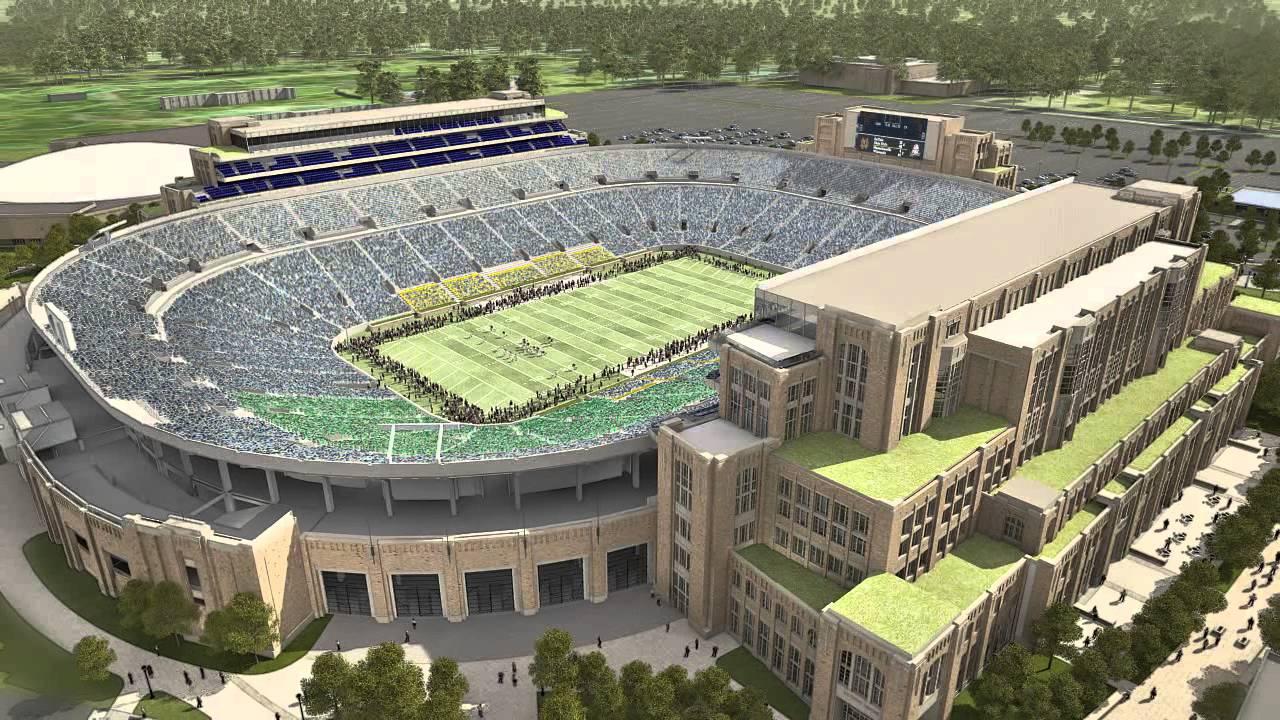 Notre Dame Stadium 2017