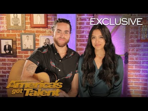 Us The Duo Chats About Their Exciting AGT Performance - America's Got Talent 2018