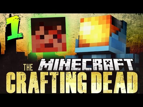 Minecraft The Crafting Dead Mod Pack | A SAVAGE NEW WORLD! - Walking Dead in Minecraft