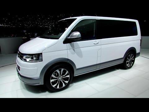 2014 Volkswagen Multivan Alltrack - Exterior and Interior Walkaround - 2014 Geneva Motor Show