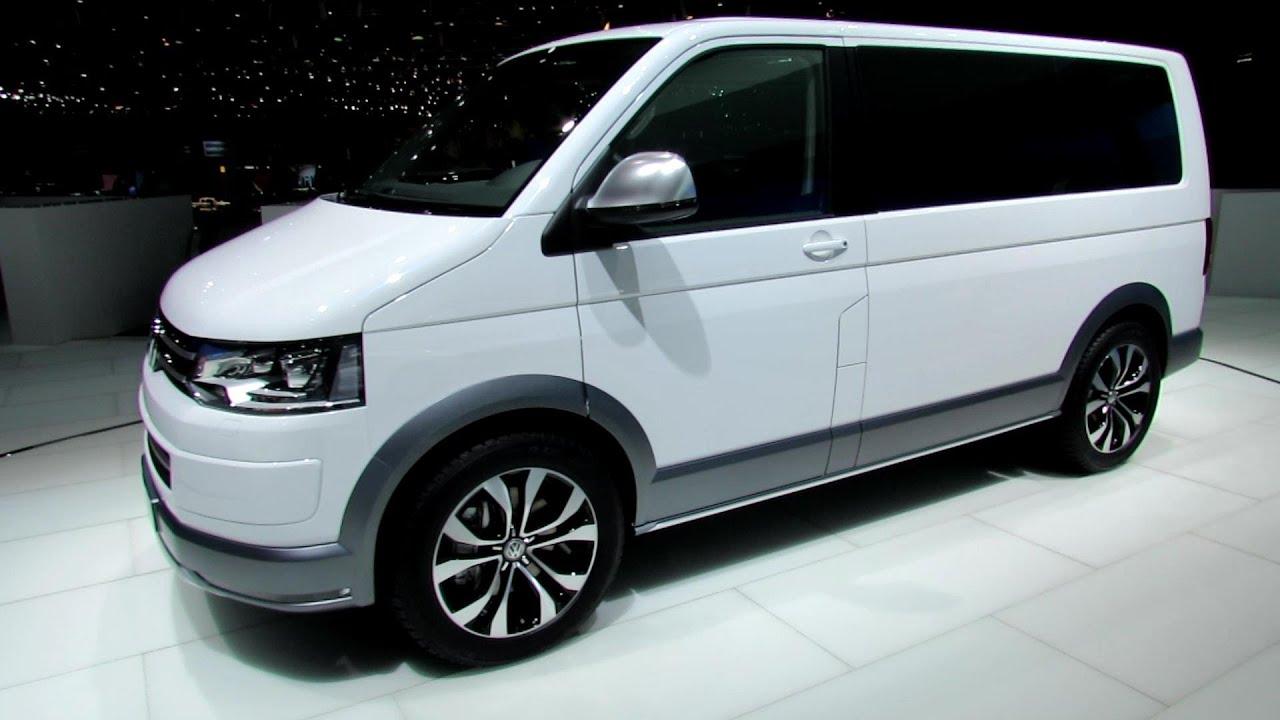 2014 Volkswagen Multivan Alltrack - Exterior and Interior ...