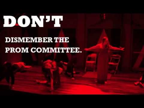 CARRIE the musical - The Dos and Don'ts of the Prom