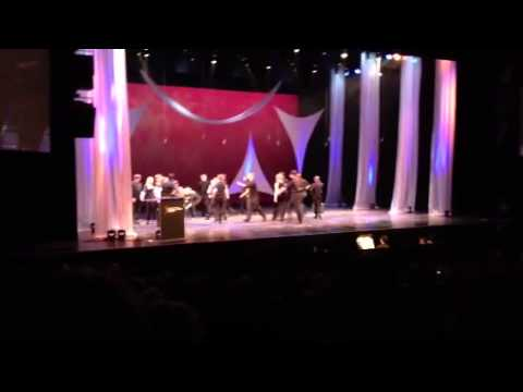 """Roosevelt High School's """"Chicago"""" medley at the Civic Center"""