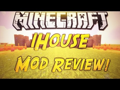 Minecraft 1.8: iHouse Mod Review!
