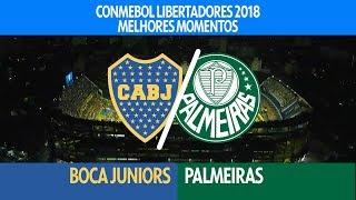 Melhores Momentos - Boca Juniors 0 x 2 Palmeiras - Libertadores - 25/04/2018