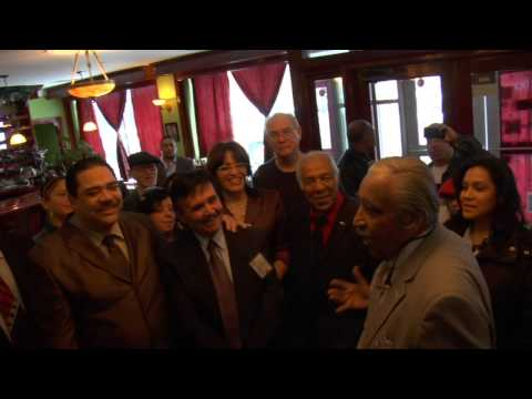 Charles Rangel at Erick Salgado Breakfast
