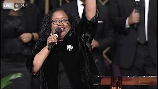 Maria Jenkins and the GMCHC Praise Team at FBCG New Years Joint Revival 2019