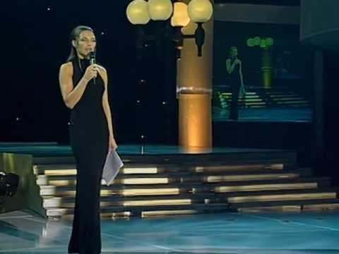 Vlatka Pokos - Prilika za promociju turizma @ Miss BiH 2001