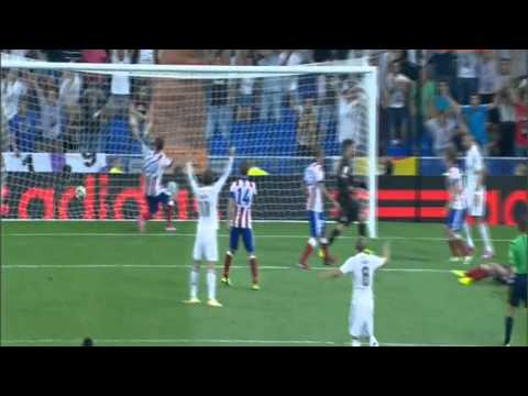 Real Madrid - Atletico Madrid 1:0 James Rodríguez First Goal