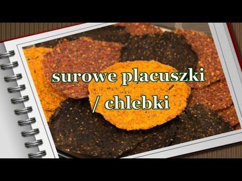 SUROWE Placuszki / Chlebki / Tortille -