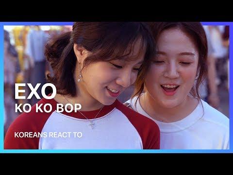download lagu Koreans React To: Exo `ko Ko Bop` gratis