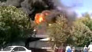 Пожар на АвтоЗАЗ 10.09.2009 (3). Fire at AvtoZAZ 10/09/2009 (3)