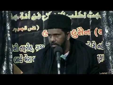 India Maulana Kamran Haider Majlis 6 Asra Muharram/Saffar 1433/2011