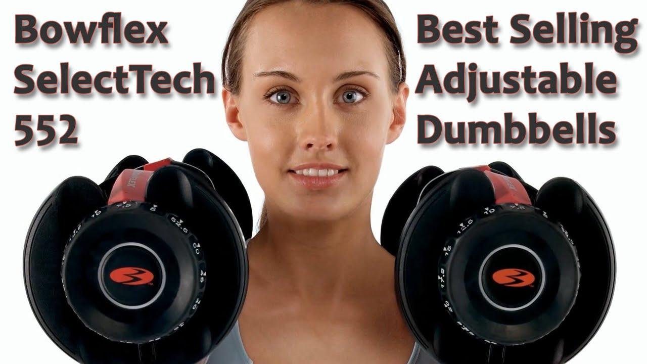Bowflex SelectTech 552 Adjustable Dumbbells Review Video