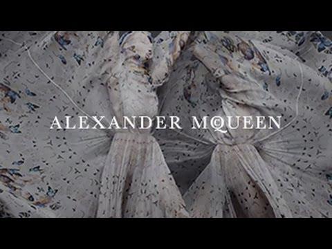Alexander McQueen & Damien Hirst Scarf Collaboration| A Film