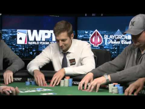 Final table of the partypoker.net WPT Canadian Spring Poker Championship