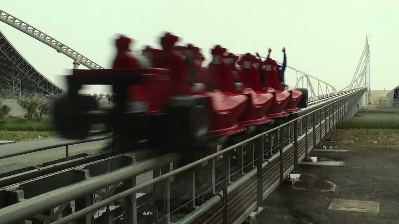 Formula Rossa World S Fastest Roller Coaster At Ferrari