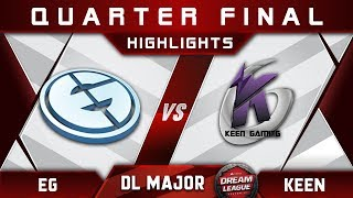 EG vs Keen [EPIC] Stockholm Major DreamLeague Highlights 2019 Dota 2
