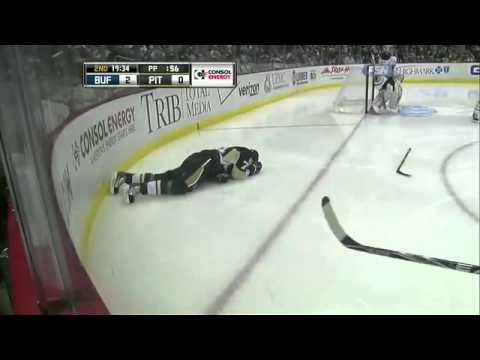 Evgeni Malkin Injured In First Game Back (02/04/11)]