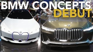 BMW X7 Concept First Look and BMW i Vision Dynamics Concept : 2017 Frankfurt Motor Show