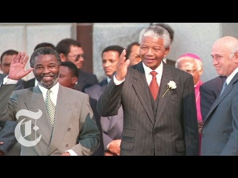 Nelson Mandela Death: A Look At South Africa's First Black President video