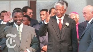 Nelson Mandela Death: A Look at South Africa's First Black President | The New York Times