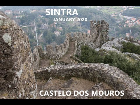 SINTRA | WESTERNMOST POINT IN EUROPE | POLICE ROADBLOCK @  CASTELO DOS MOUROS | HELLS MOUTH | LISBOA