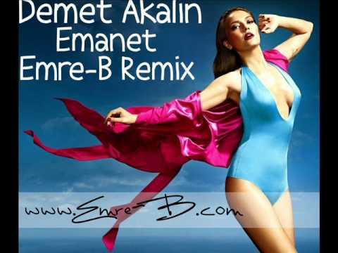 Demet Akalın - Emanet 2012 (Remix) DJ Emre-B / www.Emre-B.com